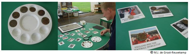 Onderzoekje met munten en data, Stratford-upon-Avon, 2012